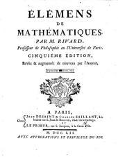 Élémens De Mathématiques: Volume1