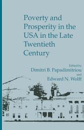 Poverty And Prosperity In The Usa In The Late 20th Century