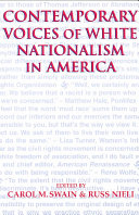 Contemporary Voices of White Nationalism in America PDF
