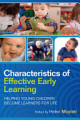 EBOOK  Characteristics of Effective Early Learning  Helping young children become learners for life