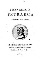 Francesco Petrarca: Volume 1