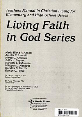Living Faith in God Series Tm  98 Ed