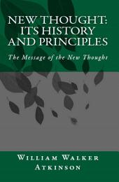 New Thought: The Message of the New Thought
