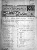 The Boys' Brigade Gazette