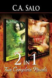 2-in-1: The Werewolf's Mate & The Dragon's Vamp [Other Kin Series Book 1 & Book