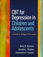 CBT for Depression in Children and Adolescents PDF