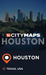 City Maps Houston Texas, USA