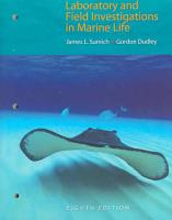 Laboratory and Field Investigations in Marine Life PDF