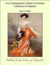 Les Contemporains: Ätudes et Portraits Litt_raires (Complete)