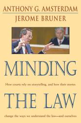 Minding The Law Book PDF