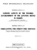 Technical note - World Meteorological Organization