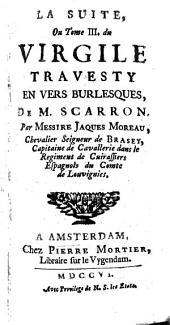 Le Virgile travesty en vers burlesques: Volume3