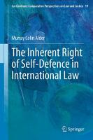The Inherent Right of Self Defence in International Law PDF