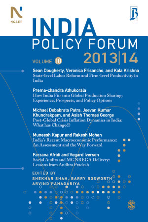 India Policy Forum 2013 14 PDF