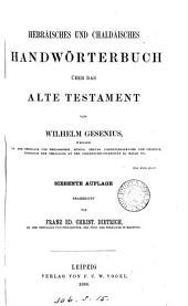 Hebräisches und chaldäisches Handwörterbuch über das Alte Testament