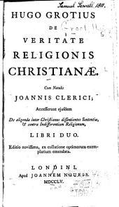 Hugo Grotius De veritate religionis christianae