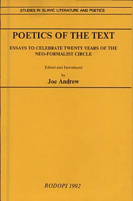 Poetics of the Text PDF