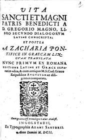 Vita Sancti et Magni Patris Benedicti