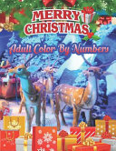 Merry Christmas Adult Color By Numbers