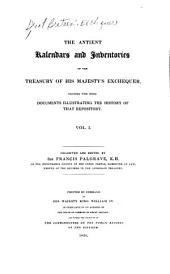 Bishop Stapleton's calendar. Memoranda of the Treasury, 19 Ed. III-50 Ed. III. Records relating to the robbery at the Treasury, 31 Ed. I