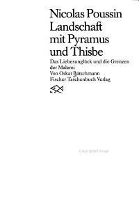 Nicolas Poussin  Landschaft mit Pyramus und Thisbe PDF