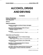 Alcohol, Drugs, and Driving