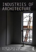 Industries of Architecture PDF
