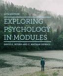Exploring Psychology in Modules PDF