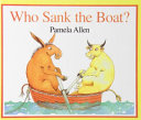 Who Sank the Boat  Book