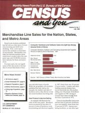 Census and you: monthly news from the U.S. Bureau of the Census, Volume 25, Issue 7