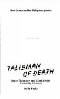 Talisman of Death PDF