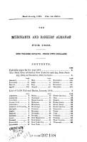 The Merchants   Bankers  Almanac PDF