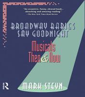 Broadway Babies Say Goodnight PDF