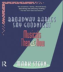 Broadway Babies Say Goodnight Book PDF