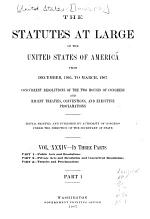 The Statutes at Large of the United States from ...