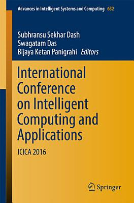 International Conference on Intelligent Computing and Applications