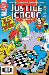 Justice League America (1987-) #61