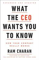 What the CEO Wants You to Know PDF