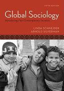 Global Sociology  Introducing Five Contemporary Societies PDF