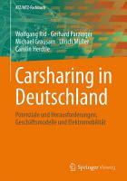 Carsharing in Deutschland PDF