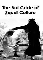 The Bro Code of Saudi Culture PDF
