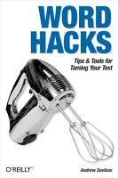 Word Hacks PDF