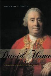David Hume: Historical Thinker, Historical Writer