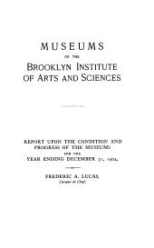 The Annual Report of the Brooklyn Museums