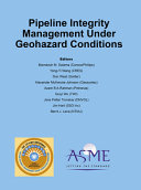 Pipeline Integrity Management Under Geohazard Conditions