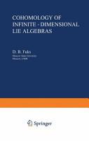 Cohomology of Infinite Dimensional Lie Algebras PDF