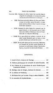 Histoire de sainte Élisabeth de Hongrie, Duchesse de Thuringe: Volume1