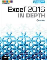 Excel 2016 In Depth  includes Content Update Program  PDF