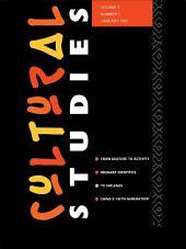 Cultural Studies: Volume 6, Issue 1