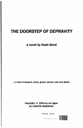 The Doorstep of Depravity PDF